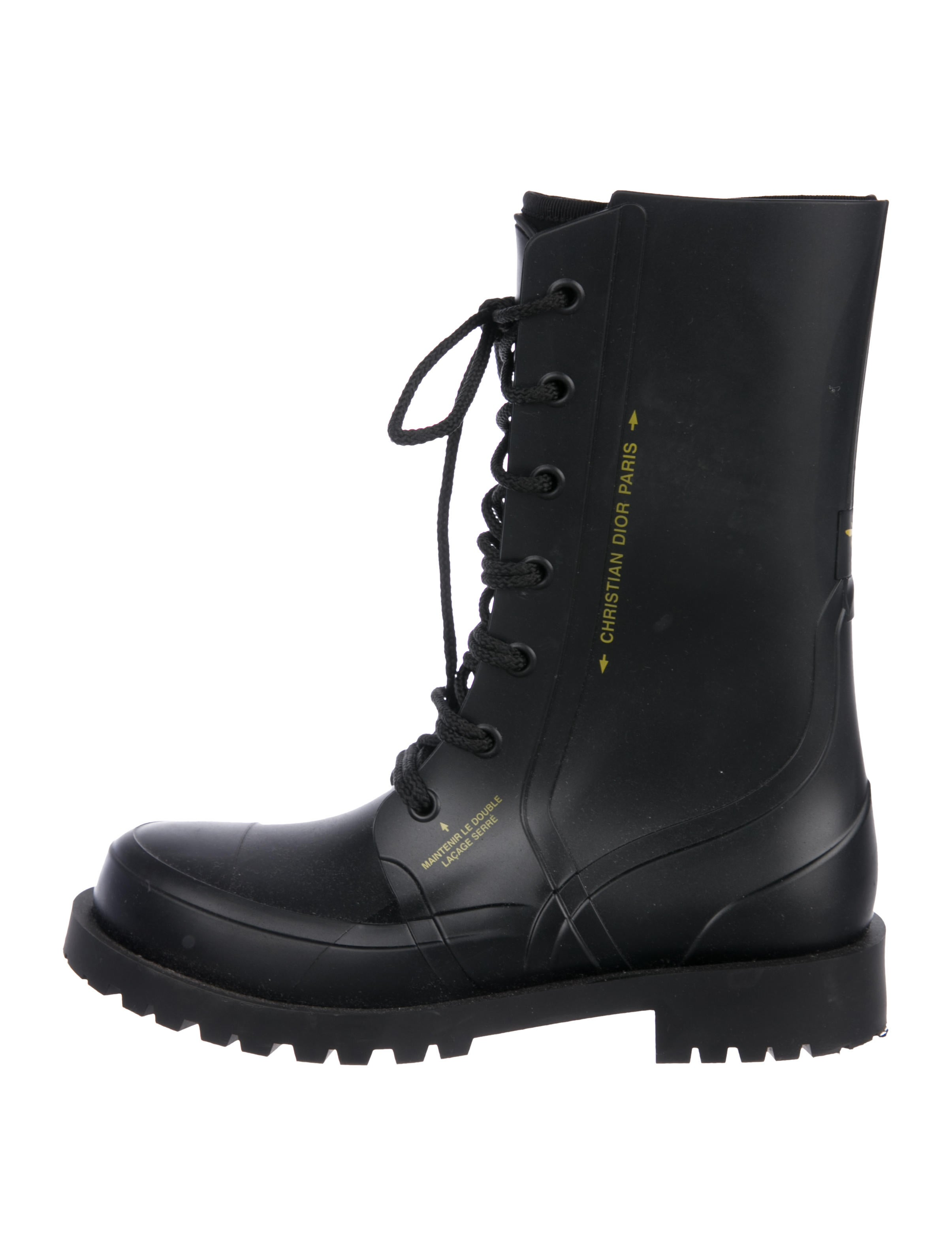 Christian Dior 2019 Diorcamp Rain Boots