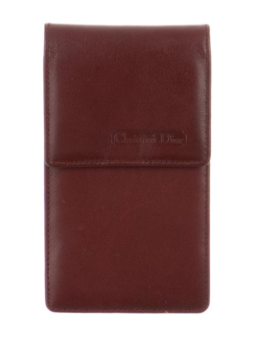 Christian Dior Leather Coin Pouch