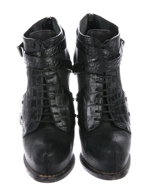 645ff780 Christian Dior Leather Guetre Booties - Shoes - CHR109169 | The RealReal