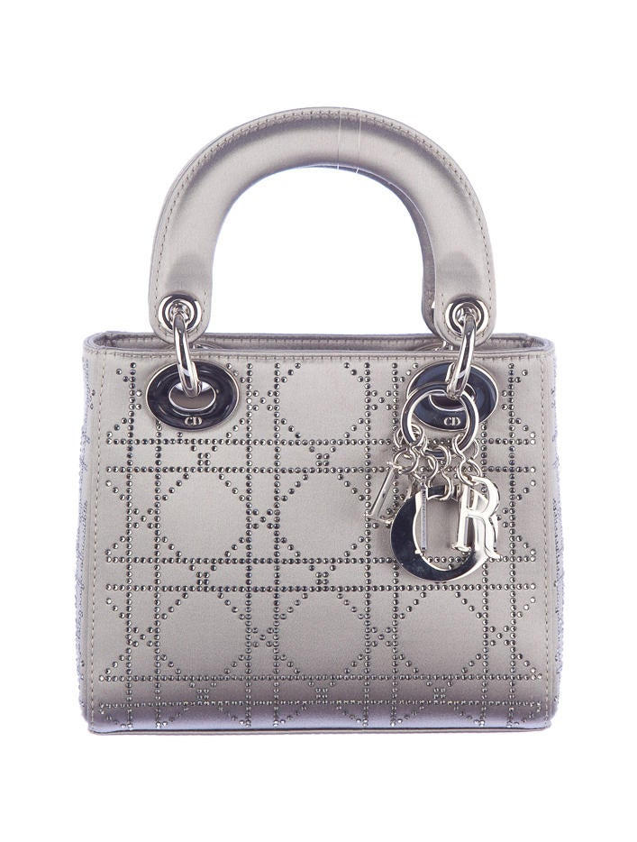 christian dior mini lady dior handbags chr11110 the realreal. Black Bedroom Furniture Sets. Home Design Ideas