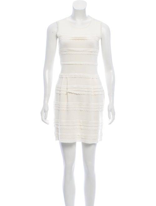 Christian Dior Tiered Mini Dress