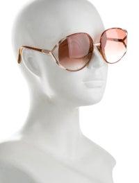Oversize Gradient Sunglasses image 4