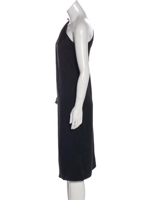 Satin One-Shoulder Dress