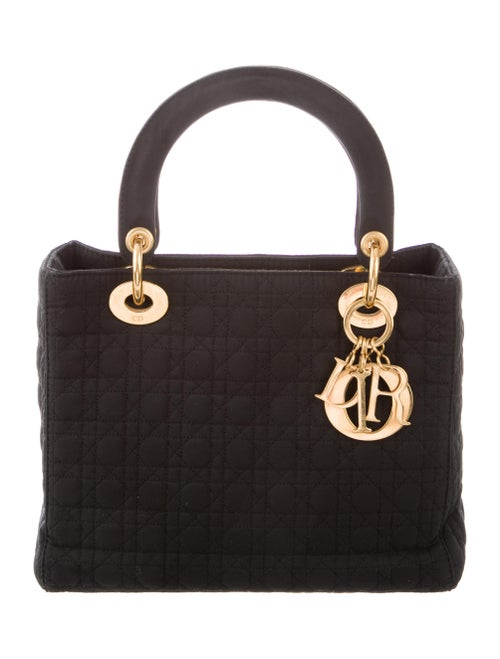 Medium Nylon Cannage Lady Dior by Christian Dior