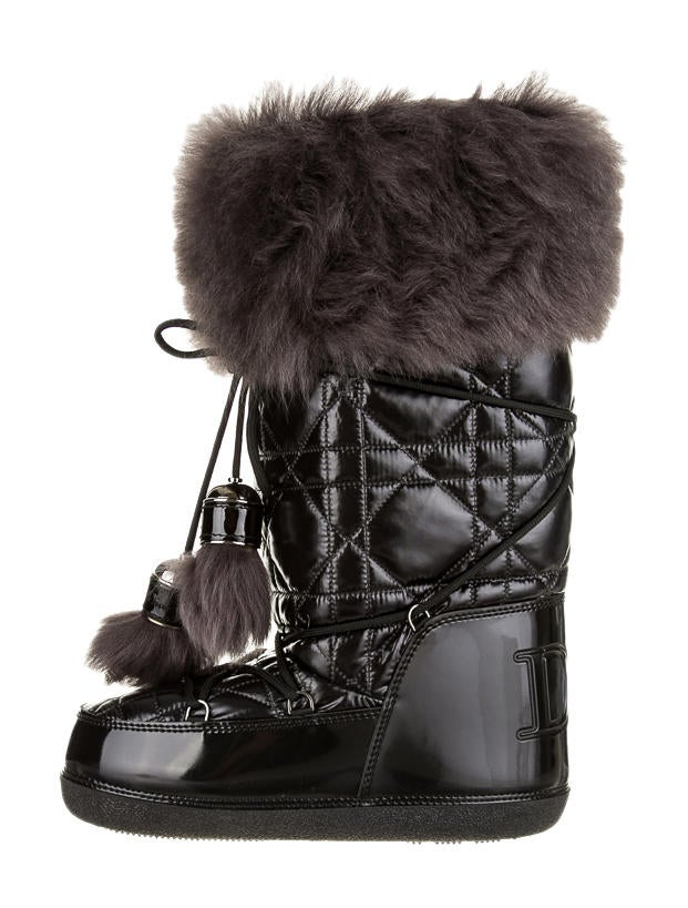 Christian Dior Snow Boots - Shoes - CHR12108 | The RealReal