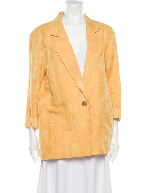 Christian Dior Blazer Yellow