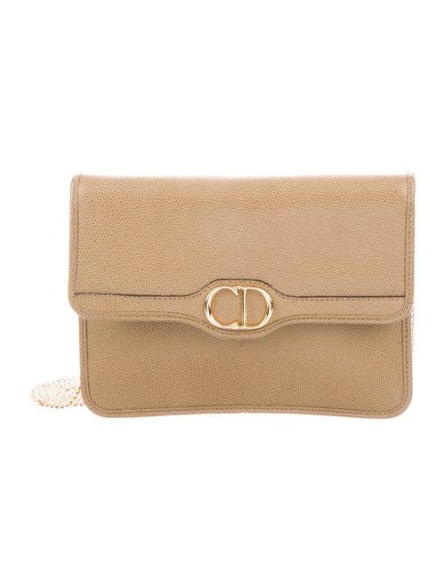 Christian Dior Vintage Crossbody Bag Tan