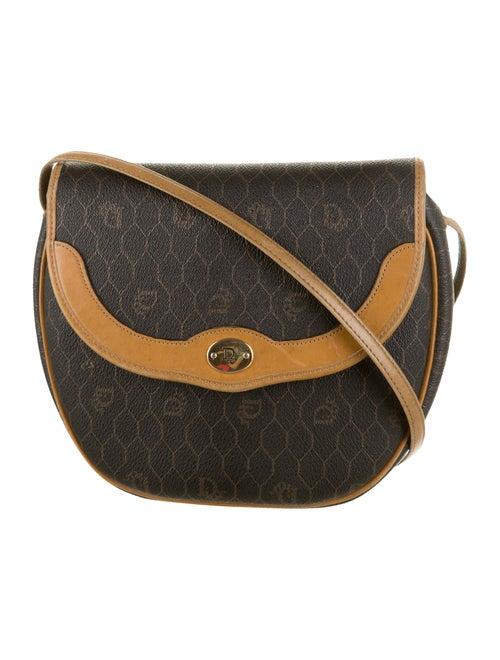 Christian Dior Honeycomb Shoulder Bag gold