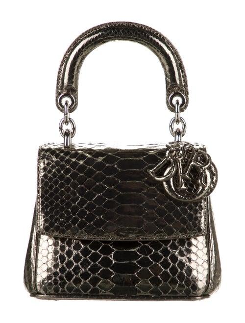 Christian Dior Be Dior Flap Micro Bag Metallic