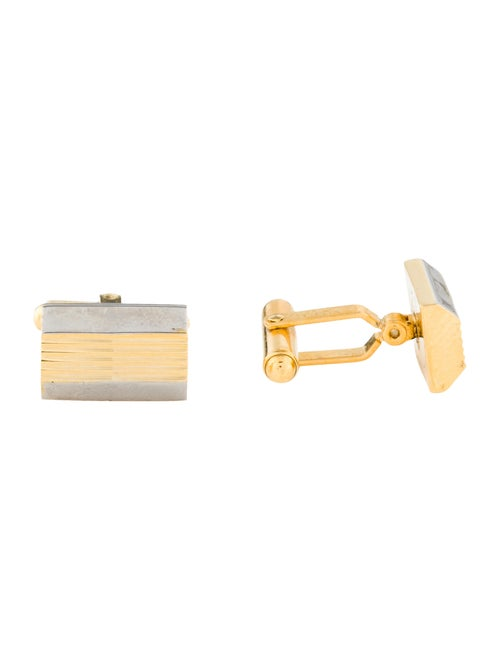 Christian Dior Vintage Cufflinks gold