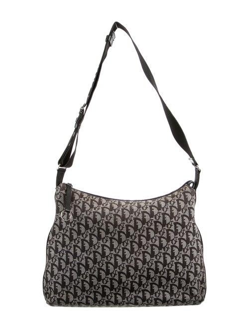 Christian Dior Diorissimo Messenger Bag Grey