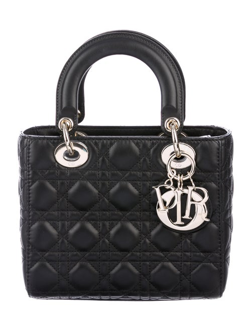 Christian Dior 2019 Small Lady Dior Black