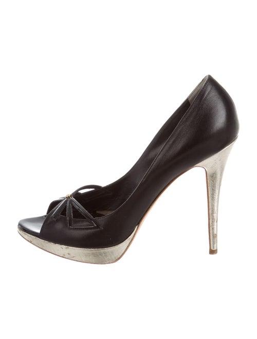 Christian Dior Lolita Leather Pumps Black