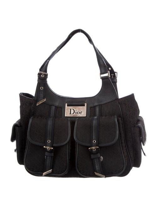 Christian Dior Street Chic Shoulder Bag Black