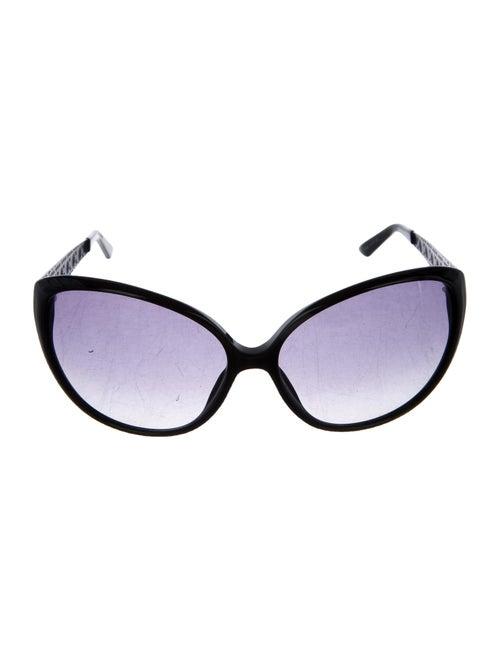 Christian Dior Coquette 1 Oversize Sunglasses Blac