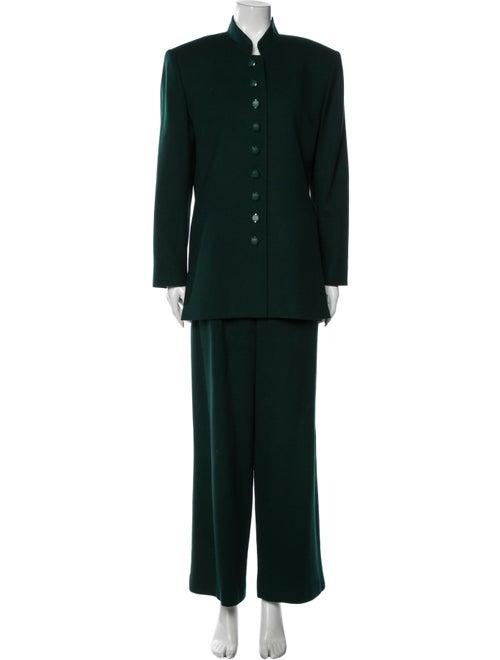 Christian Dior Vintage Wool Pantsuit Wool