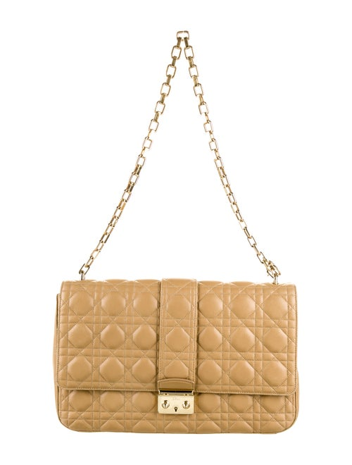 Christian Dior Medium Miss Dior Shoulder Bag Gold