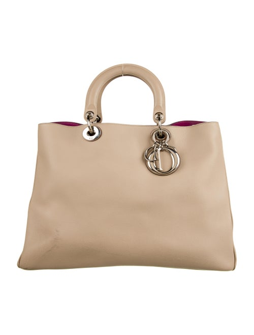 Christian Dior Large Diorissimo Bag Silver