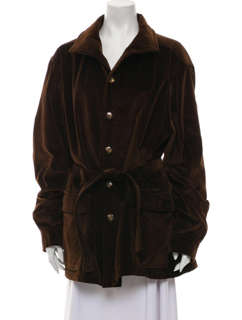 Christian Dior Coat Brown