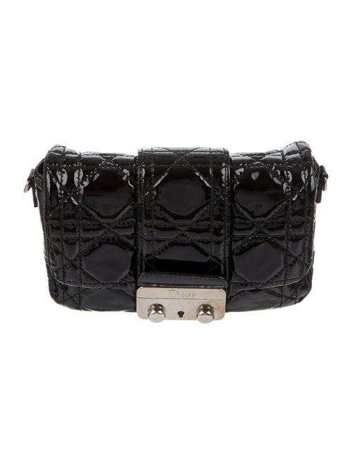 Christian Dior Miss Dior Promenade Pouch Bag Black