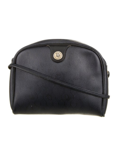 Christian Dior Vintage Honeycomb Crossbody Bag Bla