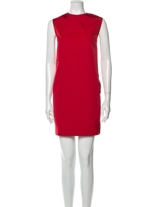 Christian Dior 2008 Mini Dress Red