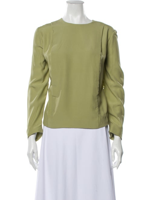 Christian Dior Vintage 1990's Blouse Green
