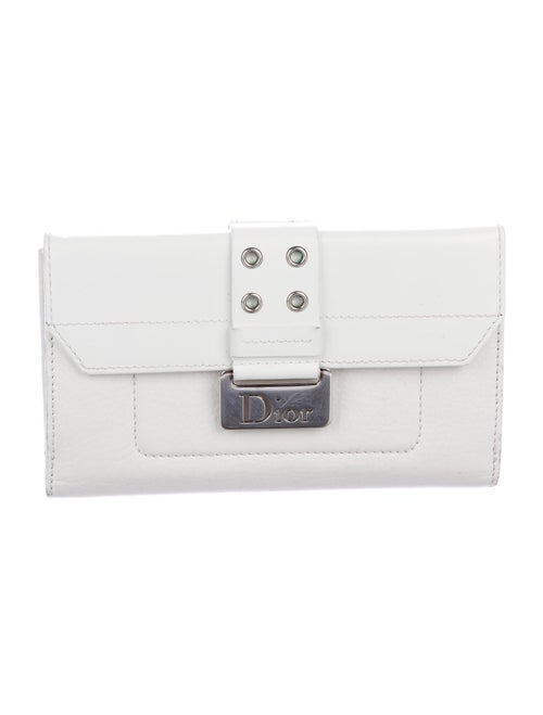 Christian Dior Street Chic Wallet silver