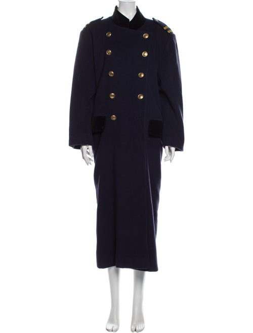 Christian Dior Vintage Coat Blue