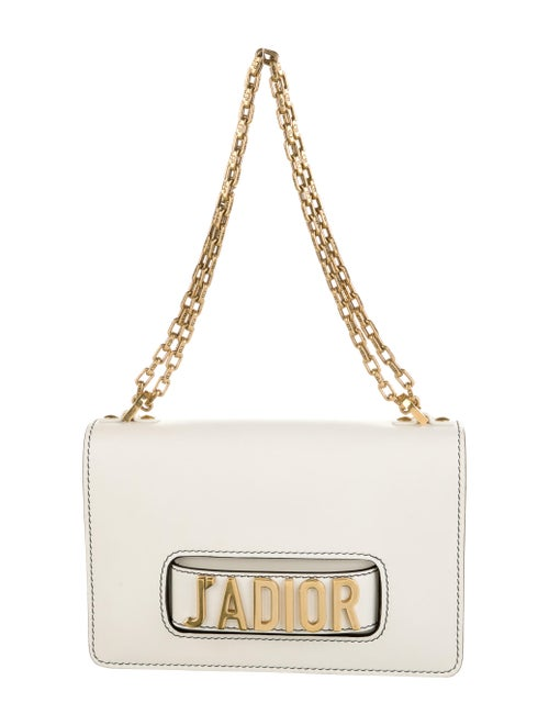 Christian Dior J'Adior Flap Bag Metallic