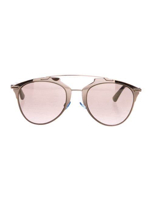 Christian Dior Reflected Aviator Sunglasses Gold