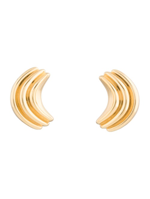 Christian Dior Clip-On Earrings Gold