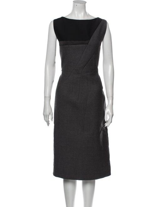 Christian Dior 2013 Knee-Length Dress Wool