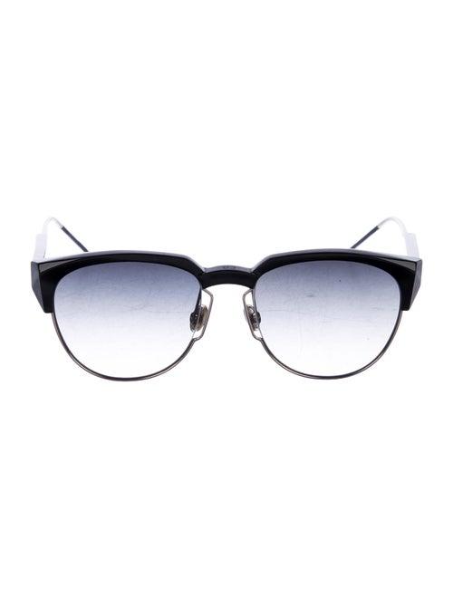 Christian Dior Spectral Round Sunglasses Black