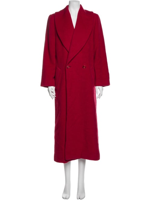 Christian Dior Vintage Coat Red