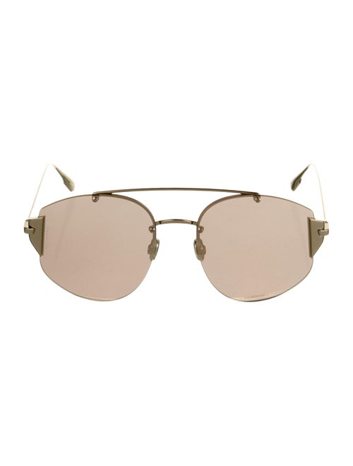 Christian Dior Stronger Reflective Sunglasses Gold