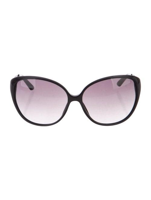 Christian Dior Coquette 1 Round Sunglasses Black