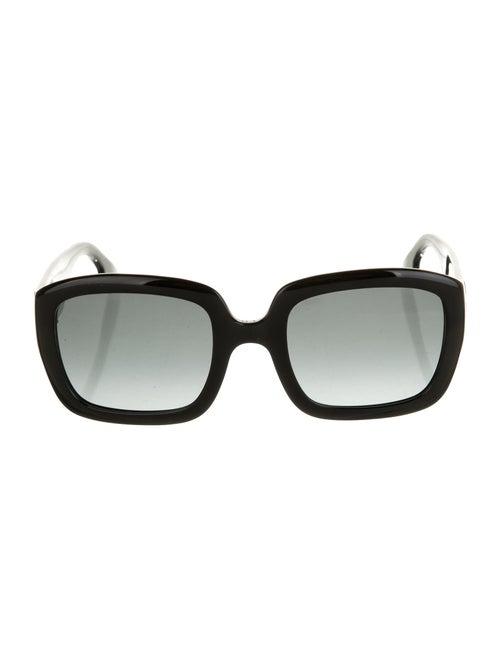 Christian Dior DDior Oversize Sunglasses Black