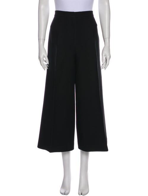 Christian Dior Wool Wide Leg Pants Wool