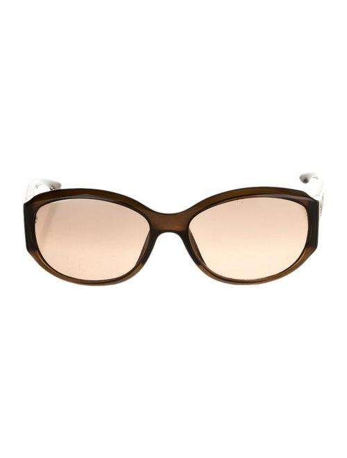 Christian Dior Night Round Sunglasses Brown