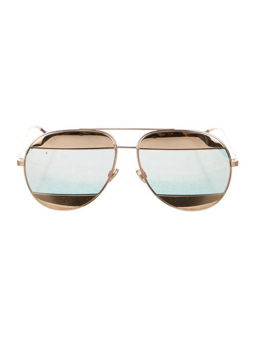 Christian Dior Metal Tinted Sunglasses gold