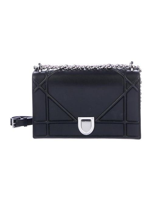 Christian Dior Large Diorama Chain Bag Black