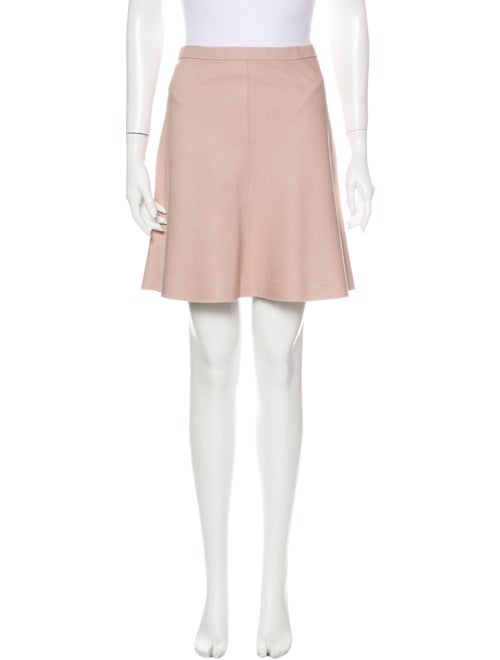 Christian Dior Silk Mini Skirt Pink