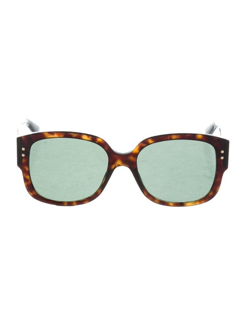 Christian Dior Lady Dior Studs Sunglasses Brown