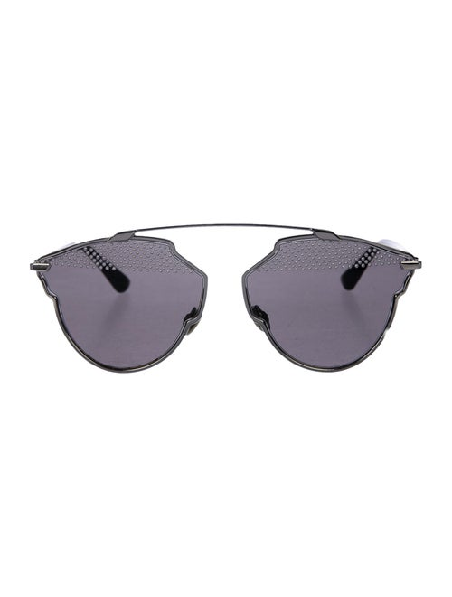 Christian Dior So Real S Sunglasses Silver