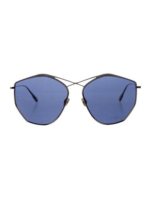 Christian Dior Stellaire Oversize Sunglasses Gold