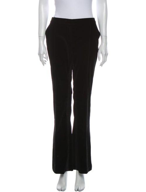 Christian Dior Wide Leg Pants Black