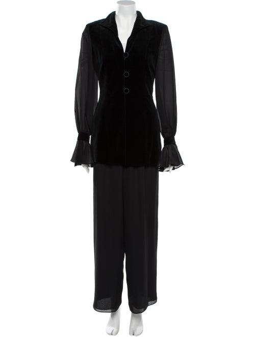 Christian Dior Vintage Pantsuit Black