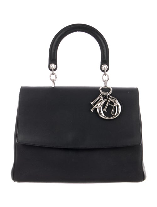 Christian Dior Medium Be Dior Top Handle Bag Black