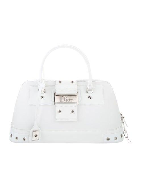 Christian Dior Street Chic Handle Bag White